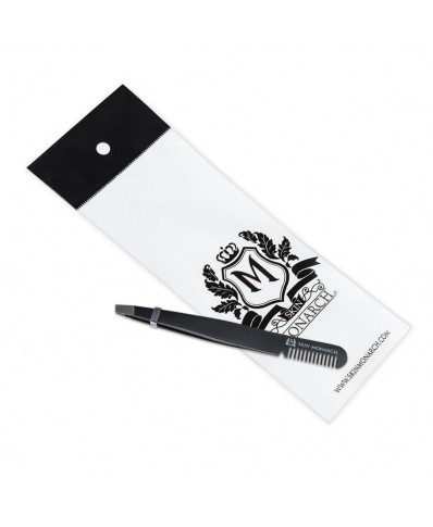 Skin Monarch tweezers with comb 10 cm (1pcs.)