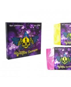 Tattoo Machines bags ( Transparent Pink / Yellow) 250pcs.