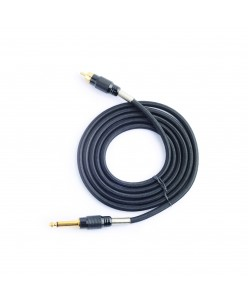 Textile contact wire for rotory machine (black)