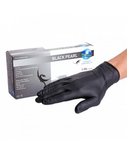 Black Pearl Nitrile Gloves (XS - S - M - L)
