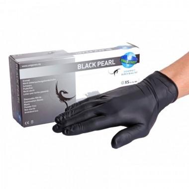 Black Pearl Nitrile Gloves (XS - S - M - L)