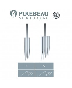 Purebeau 3-5 er Microblade FRS needles (for machine) 1 pcs.