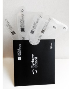 CC Brow stencil set (6pcs)