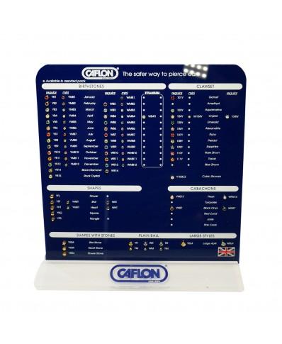 Caflon® Blu Display Board