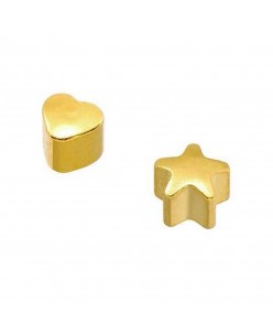 Caflon® Gold Plated MINI Shaped Earrings