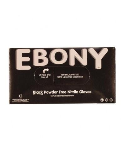 Ebony Nitrile Gloves (S/M/L)