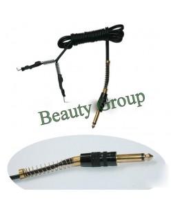 Clip cord (black gold)