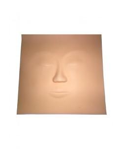 Practice skin (face)